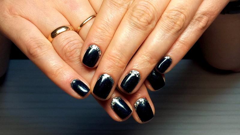 акриловый и гелевый маникюр фото дизайн на короткие ногти (2)