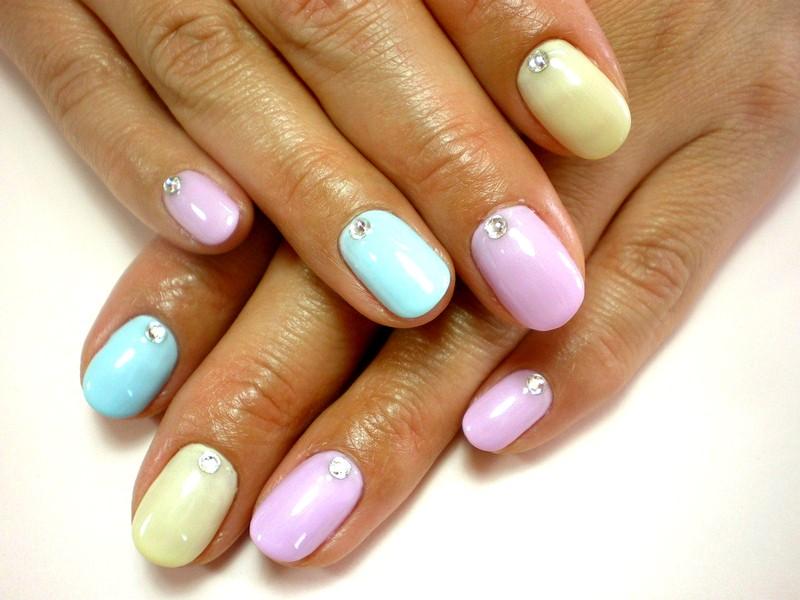 Фото красивых коротких ногтей