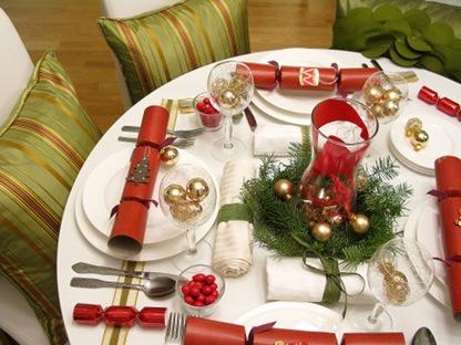 Новогодний декор для стола своими руками
