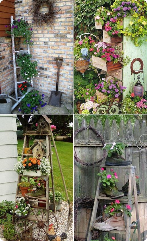 Декоры своими руками в саду 374