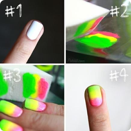 Яркий дизайн ногтей