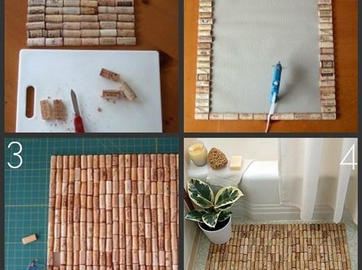 коврик для ванной своими руками