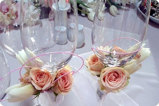 Как украсить свадебный стол своими руками пошаговое