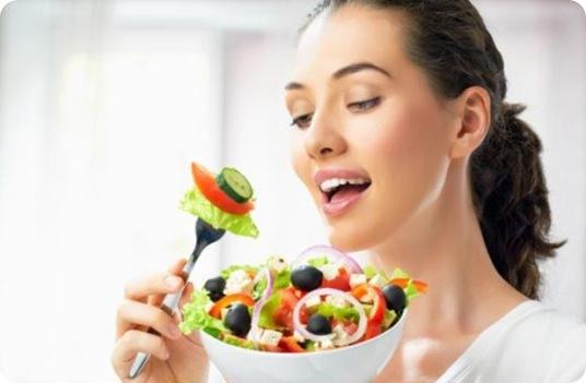 летние салаты из овощей
