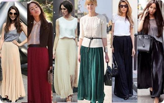 Модные и элегантные зимние и демисезонные юбки