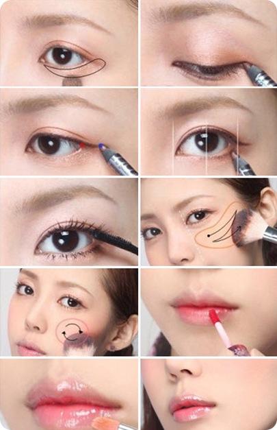 Лёгкий макияж для подростков