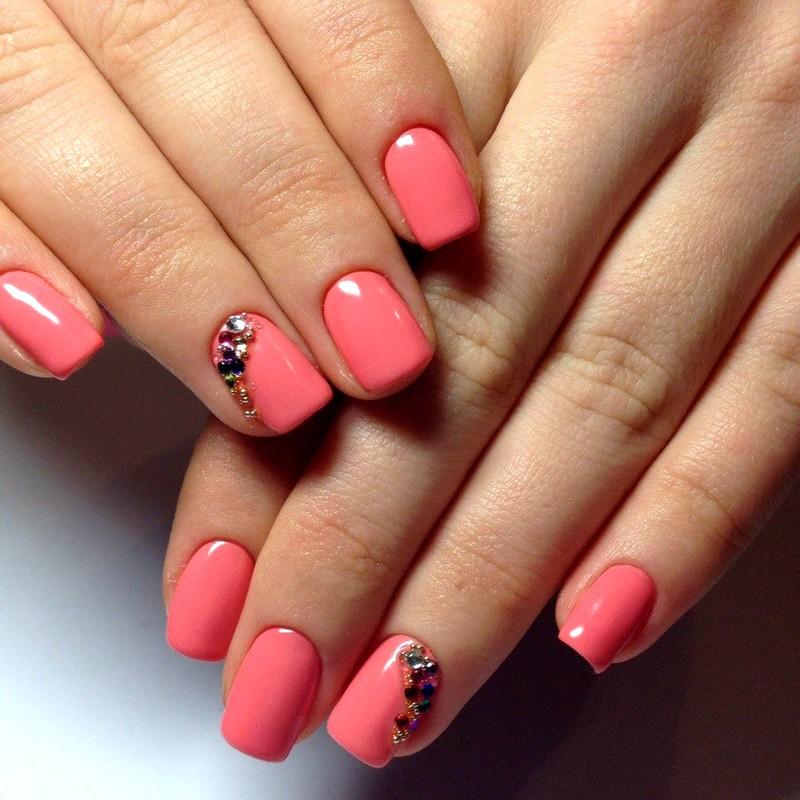 Дизайн ногтей на коротких ногтях