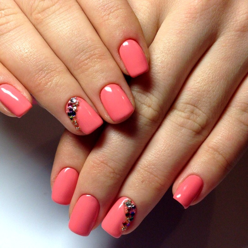 маникюр на короткие ногти (3)