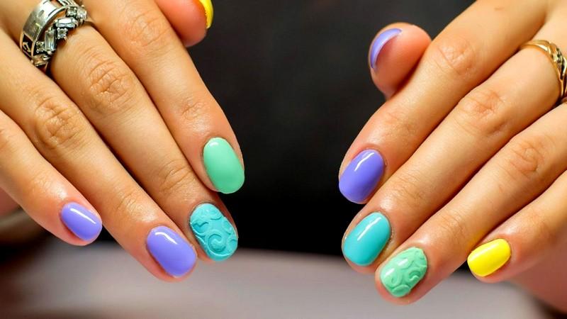 маникюр на короткие ногти (6)
