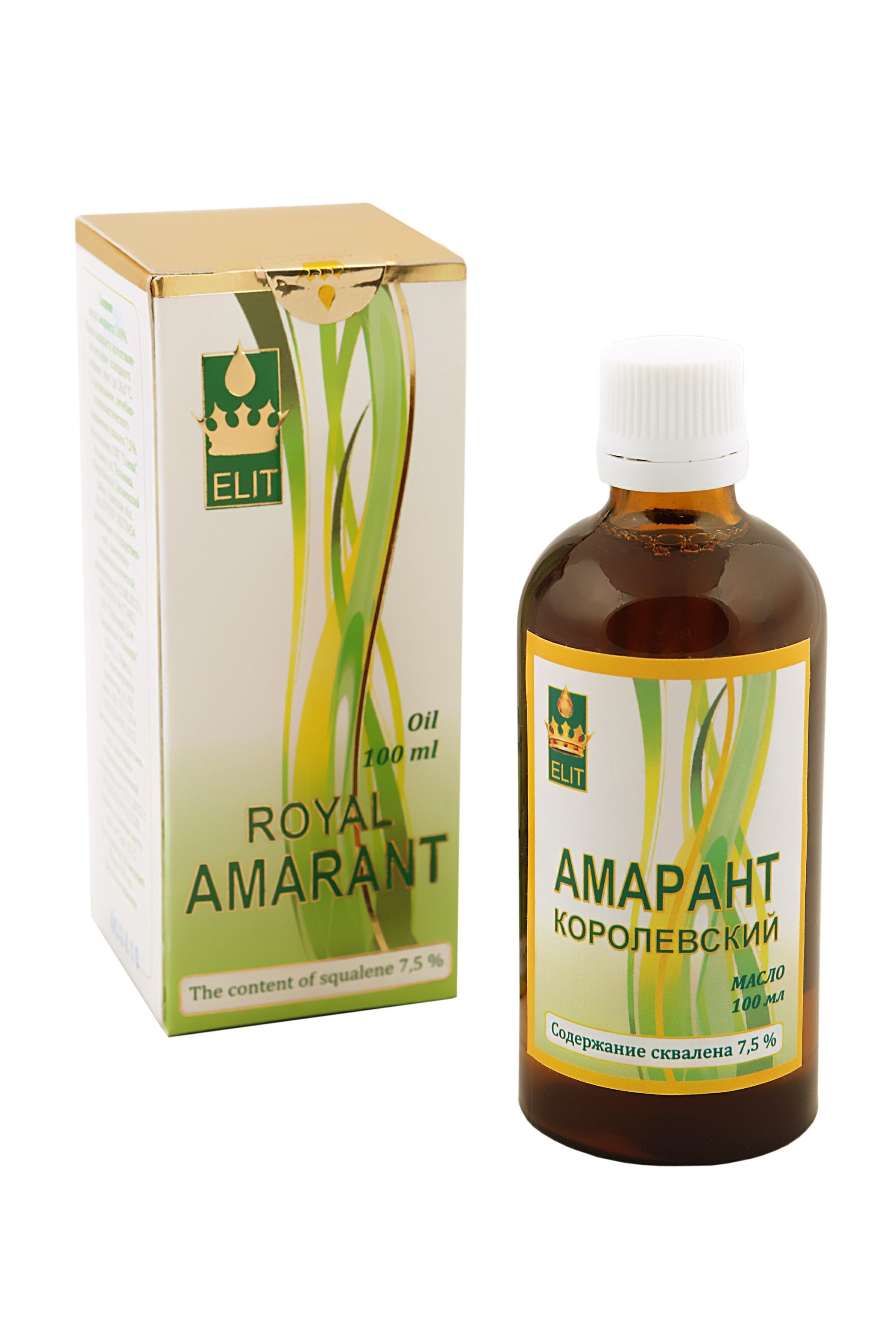 Пример масла амаранта
