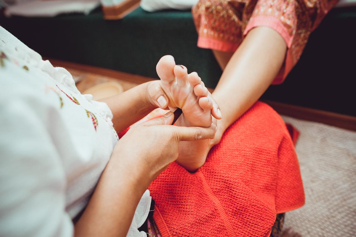 Методика фут массажа