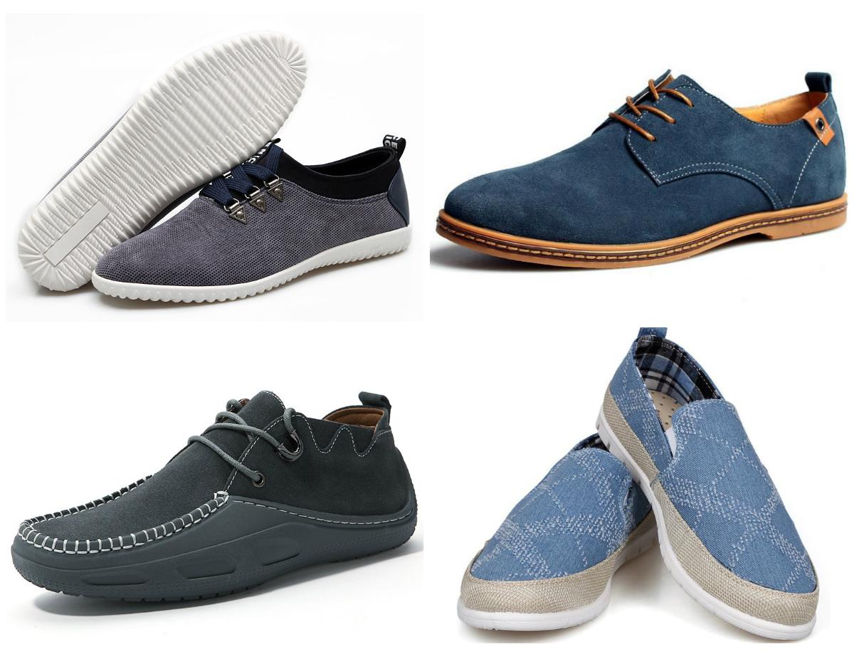 Мужская мода на обувь