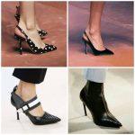 Туфли к открытым носком