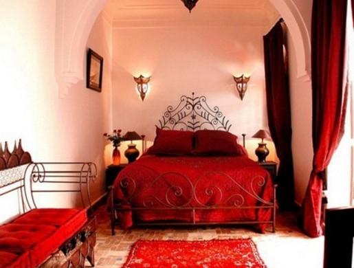Восточный стиль в интерьере спальни