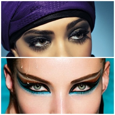 Восточный макияж глаз
