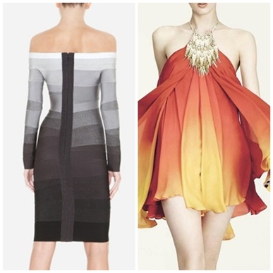 Одежда с эффектом Ombre