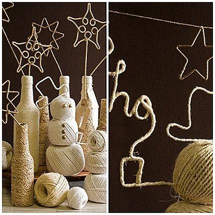 Снежинки и шарики