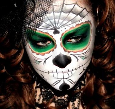 череп для хэллоуина