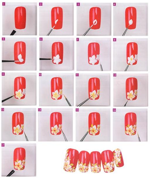 Рисунки на ногтях иголкой  схемы, фото, уроки. Даа, это всегда