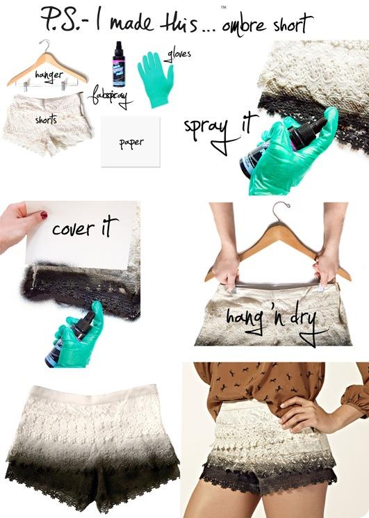 Как покрасить джинсовые шорты в домашних условиях?